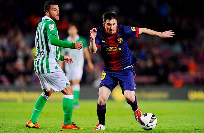 Lionel Messi and Barcelona wrapped up the La Liga title over the weekend.