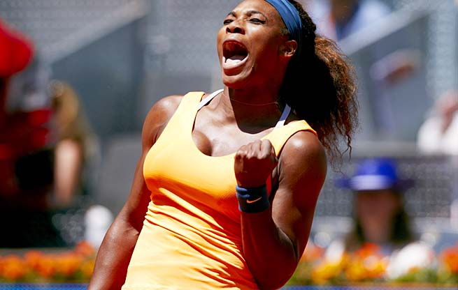Serena Williams hasn't lost to Maria Sharapova since 2004, holding a 13-2 head-to-head record.