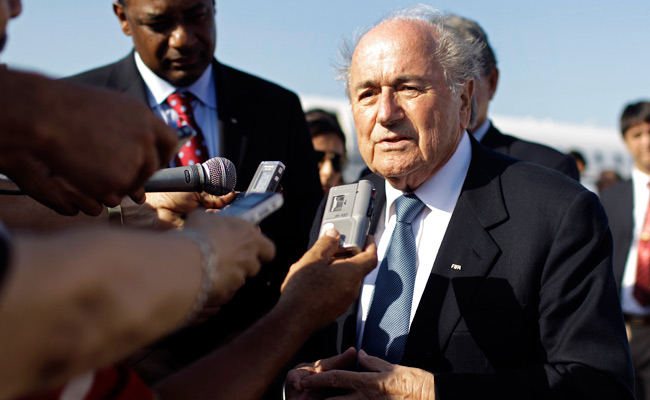 FIFA's Sepp Blatter has never said whether he voted for or against Qatar to host the 2022 World Cup.