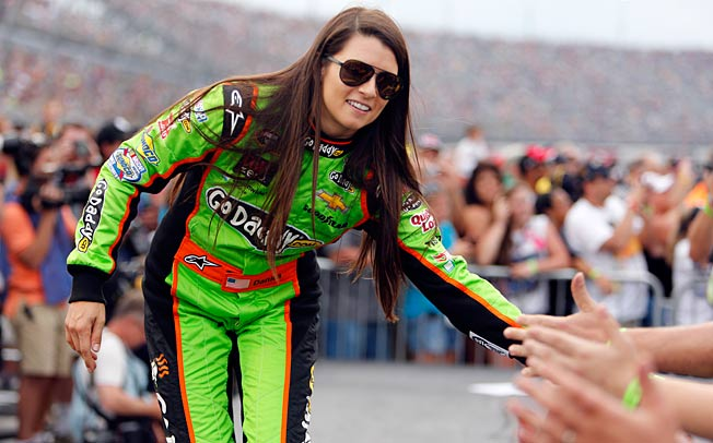 Danica Patrick is one of NASCAR's five most popular drivers, but she struggles on tracks like Charlotte.