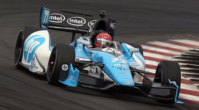 Simon Pagenaud is looking to restart his season in the Indy 500, scene of his first race on an oval.