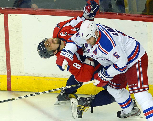 With news that Alex Ovechkin played Games 6 and 7 of a first-round playoff series against the New York Rangers with a fracture in his left foot, SI.com takes a look at other athletes who played through pain.