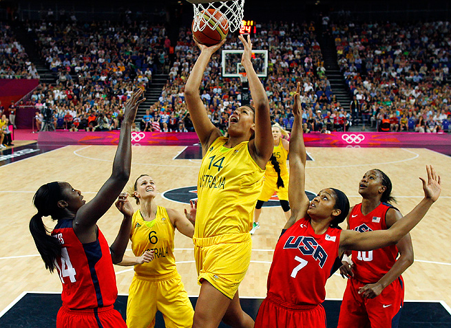 Elizabeth Cambage skipped all of the 2012 WNBA season to train with the Australian Olympic team.