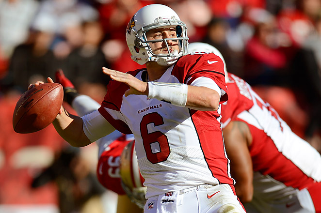 Former Cardinals QB Hoyer will compete for the backup job behind Brandon Weeden or Jason Campbell.
