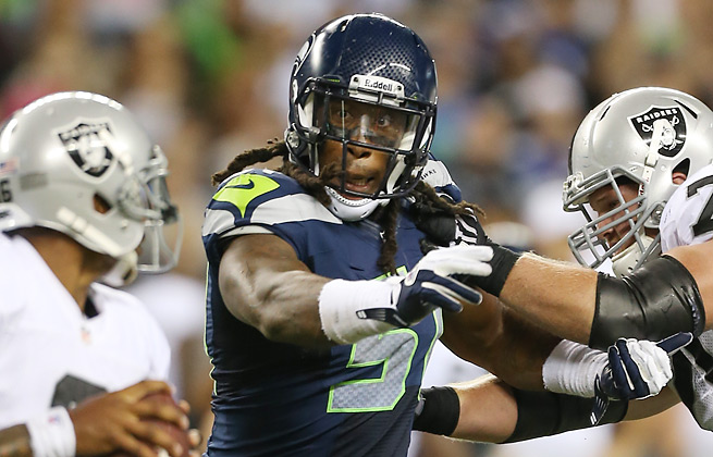 Bruce Irvin, who had eight sacks as a rookie, will be suspended for the first four games of 2013.