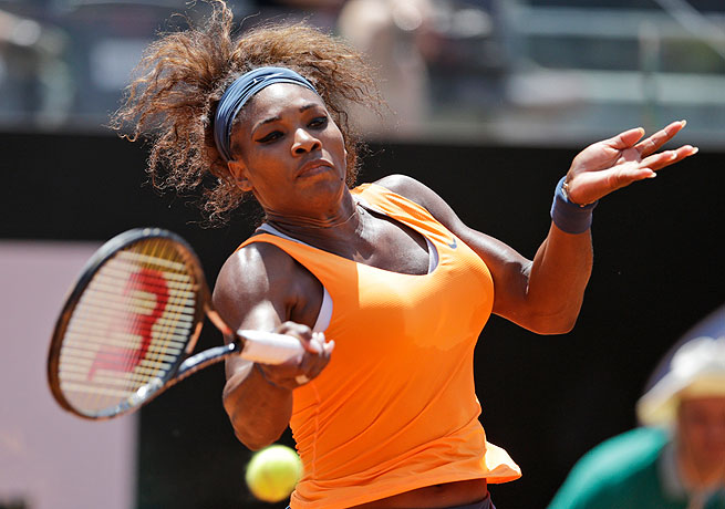 Serena Williams' victory over Simona Halep extended her current match winning streak to 23.