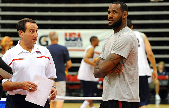 For months, Mike Krzyzewski has said he's not returning to USA Basketball, but he's now open to the possibility.