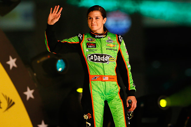 31-year-old Danica Patrick has only one top-10 finish in 21 career Sprint Cup starts.