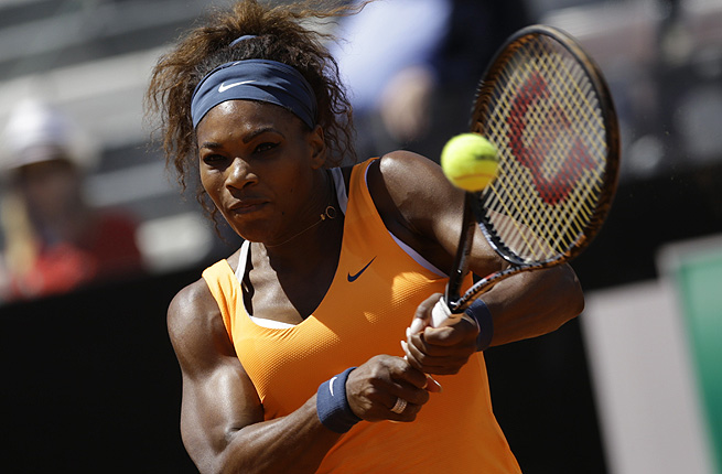 Victoria Azarenka is the last woman to beat Serena, but Williams was in complete control Sunday.