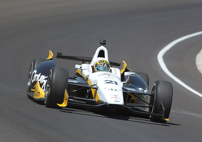 Josef Newgarden delivered the fastest lap on Bump Day at the Indianapolis 500.