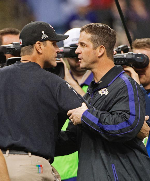 The Crescent City had the honor of being the first Super Bowl to have head coaching brothers squared off against each other. When all was said and done, John Harbaugh's Ravens got the best of Jim's 49ers. Years hosted: 1970, 1972, 1975, 1978, 1981, 1986, 1990, 1997, 2002, 2013.