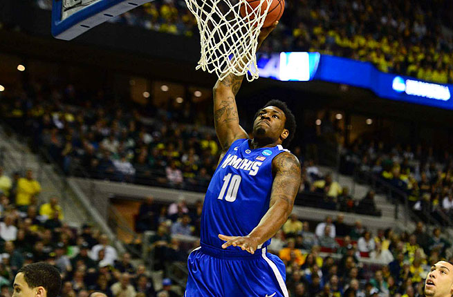 Tarik Black started five of 32 games played for Memphis and averaged 8.1 points and 4.8 rebounds.