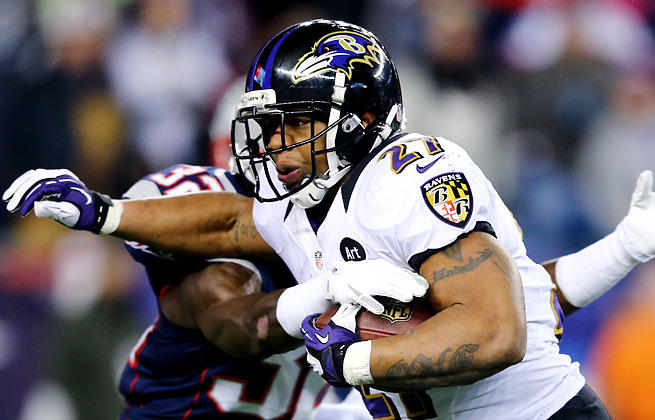 Ray Rice had $2,000 and a pair of guns taken from his Maryland home, according to police.