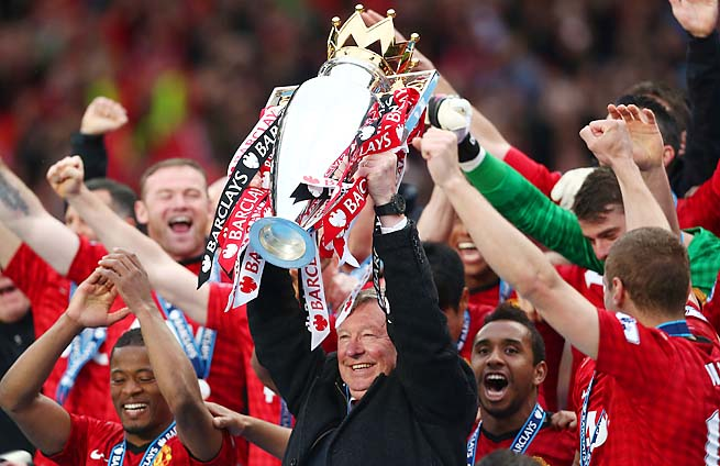 Manchester United ran away with the Premier League title this season.