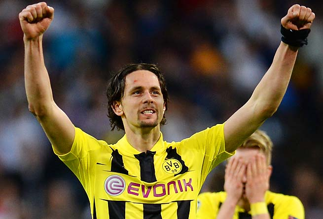 Neven Subotic started 25 of Dortmund's 34 Bundesliga matches this season, scoring three goals.