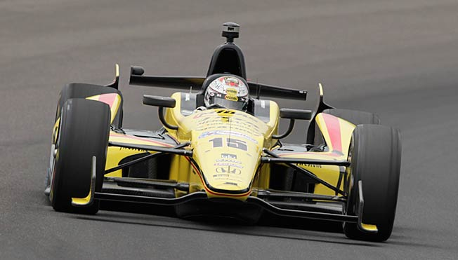 Graham Rahal's car for the Indianapolis 500 was not cool in the eyes of IndyCar officials.
