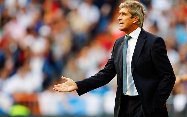 Manuel Pellegrini led Malaga to the Champions League quarterfinals this season.
