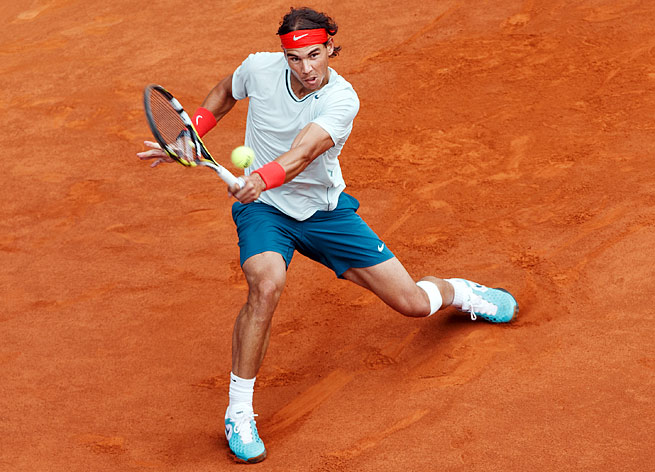 Rafael Nadal won three straight clay-court titles entering the French Open, where he is 52-1.