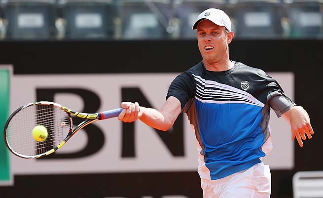Sam Querrey is the top-ranked American at No. 20, one spot ahead of John Isner.