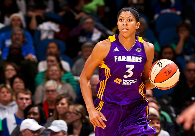 Candace Parker has won two NCAA titles and two Olympic gold medals, but not a WNBA title yet.
