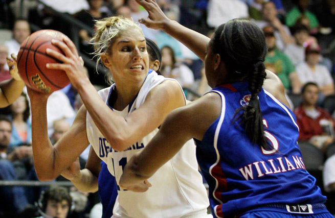 The second overall pick in the draft, the Sky will lean heavily on rookie Elena Delle Donne this year.