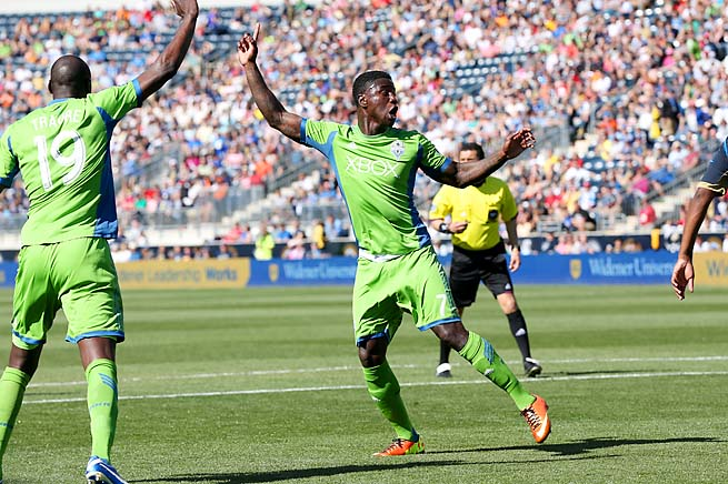 Eddie Johnson and the Sounders are in sixth place in the West with 15 points in 10 games.