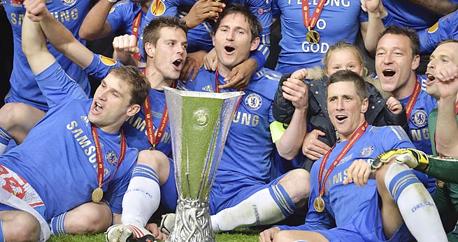 Chelsea, last year's Champions League winners, took this year's Europa League.