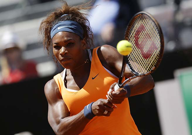Serena Williams is looking for her second French Open title and first since 2002.