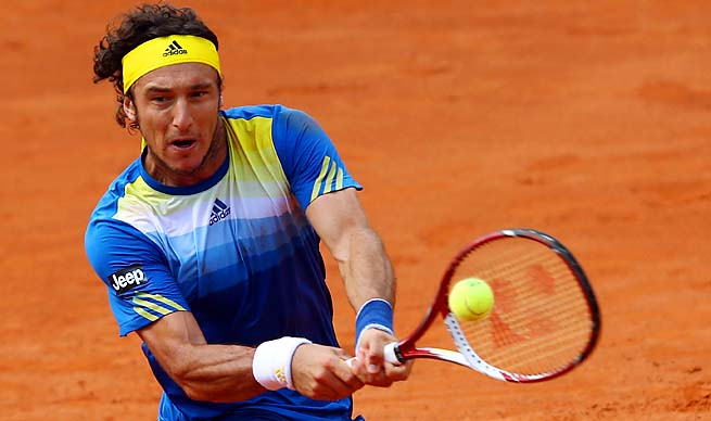 Juan Monaco, seeded 17th at the French Open, is in Roger Federer's quarter.