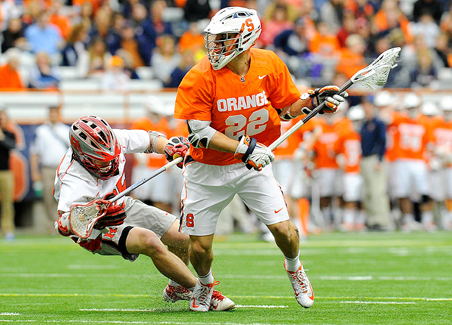 JoJo Marasco has led the Orange in scoring this season with 20 goals and 38 assists.