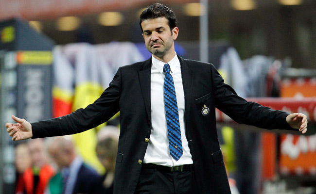 Inter Milan finished in ninth place in Serie A under Andrea Stramaccioni, who took over in March 2012.