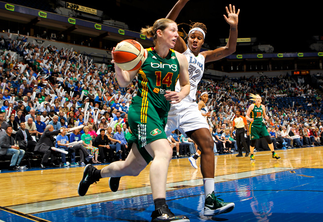 Katie Smith played under Bill Laimbeer in Detroit from 2005-'09, and will join him in New York.