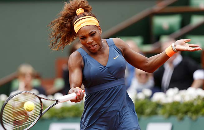 Serena Williams is trying to win her second French Open and first since 2002.