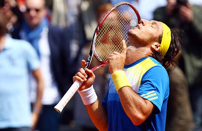 Juan Monaco's best French Open finishes were fourth-round berths in 2007 and 2012.