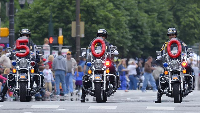 Scenes from the grounds of the Indianapolis 500 and the Festival Parade.