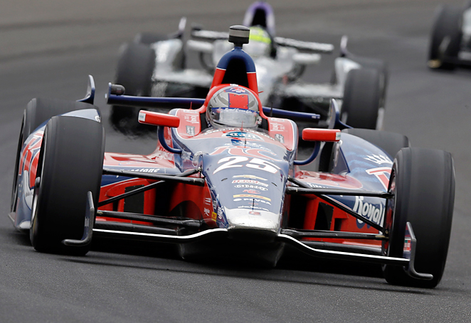 Marco Andretti could not break a family losing streak that stretches back to 1969 at the Indianapolis 500.