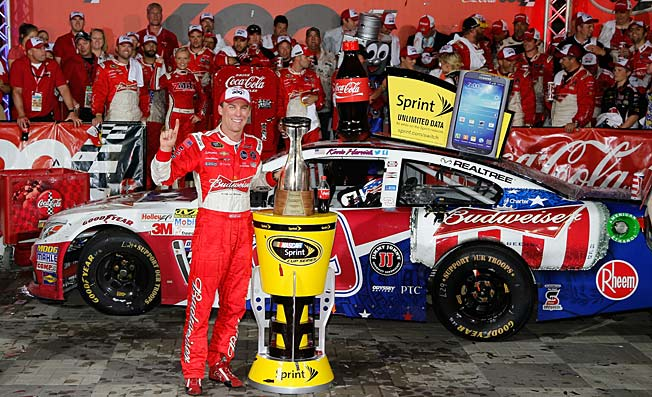 Kevin Harvick's second win of the season puts him in prime position to qualify for The Chase.