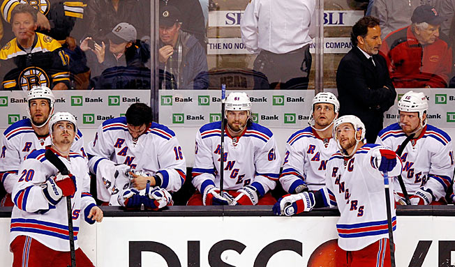 Expected by many to be a Stanley Cup contender, the Rangers struggled for much of the year.