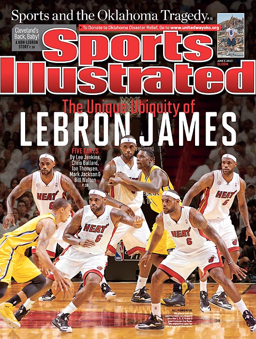 LeBron James has displayed, once again, a stunning array of skills. The June 3rd cover story explains how he does it all, position by position.