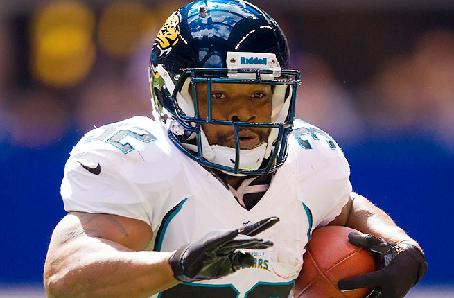 Maurice Jones-Drew, a two-time Pro Bowler, has rushed 7,268 yards and 63 touchdowns for the Jaguars.