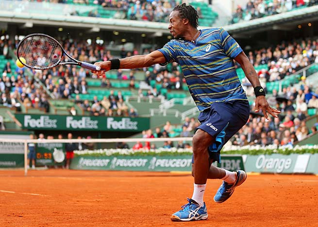 Frenchman Gael Monfils is in the French Open draw as a wild card.