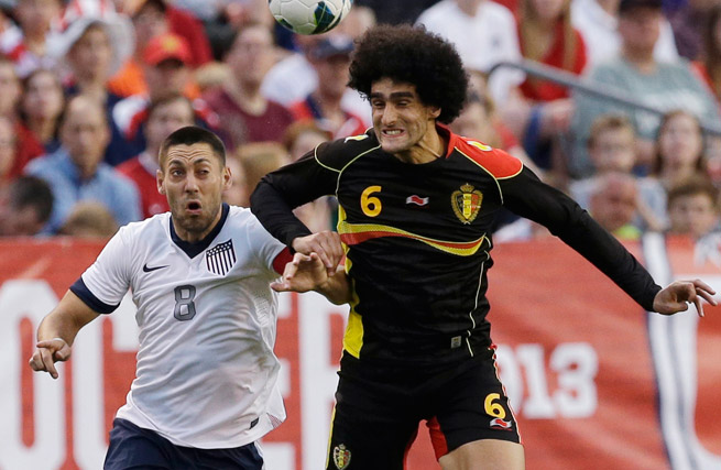 Clint Dempsey and the U.S. gave up three second-half goals in a 4-2 friendly loss to Belgium.