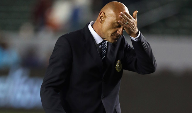 Jose Luis Sanchez Sola was terminated as Chivas USA's coach late Wednesday night.