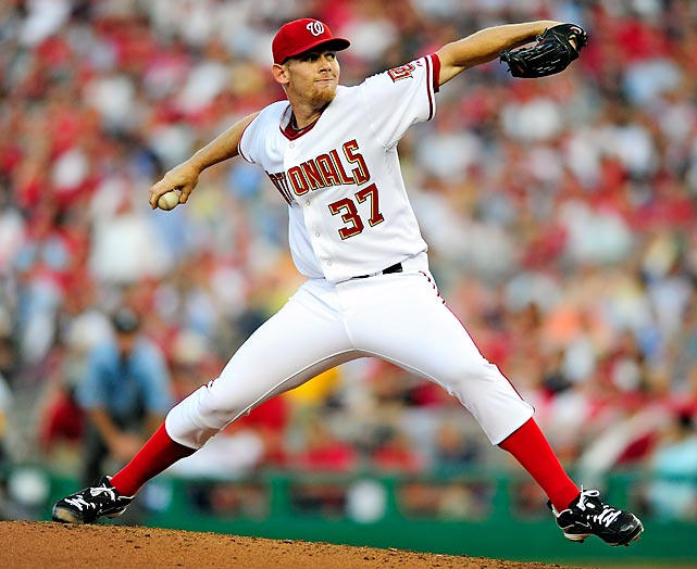 Stephen Strasburg had one of the most anticipated and dominant major league debuts in baseball history. In front of a capacity crowd (despite the Nationals' struggles as a team), the No. 1 overall pick of the 2009 draft struck out an astounding 14 Pirates over seven innings. He became the first pitcher to have at least 11 strikeouts and no walks in his big league debut.