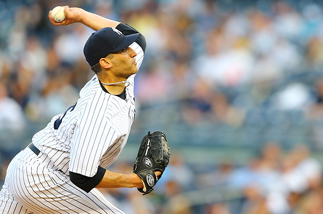 Andy Pettitte was placed on the disabled list on May 17 due to a tight left trapezius muscle.