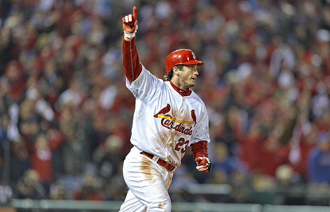 The Cardinals and Rangers will be meeting for the first time since the unforgettable 2011 World Series, which included David Freese's historic home run.
