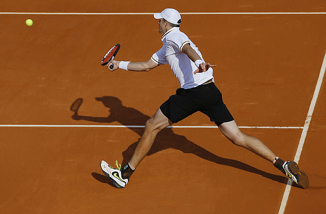 John Isner had won the previous day in a similar five-set match that lasted more than four hours.