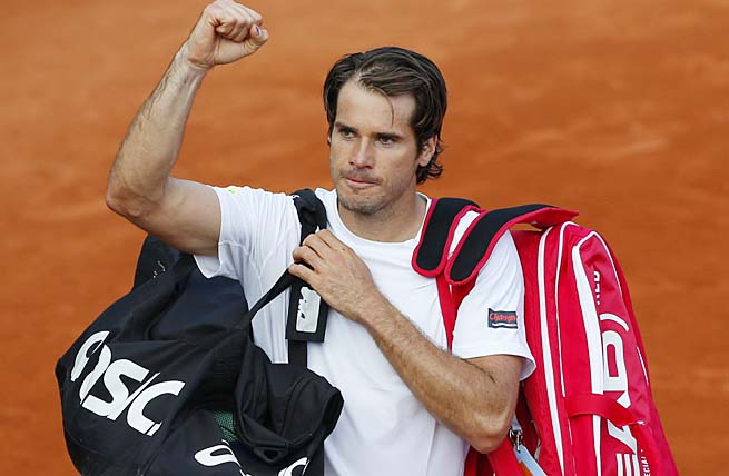 Tommy Haas will face Mikhail Youzhny in the fourth round for a chance to face Novak Djokovic.