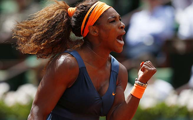 Serena Williams will face 2009 French Open champion Svetlana Kuznetsova in the second round.