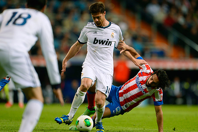 Alonso has been struggling with a groin problem for the last few weeks of the La Liga season.